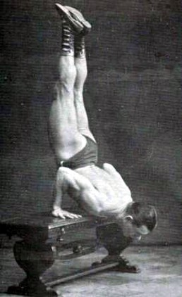 What are handstand push-ups?