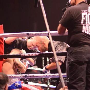Boxing Coach Ross Enamait