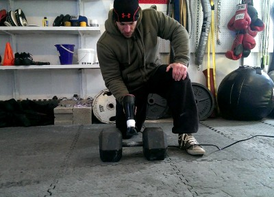 Lifting in a cold garage rosstraining
