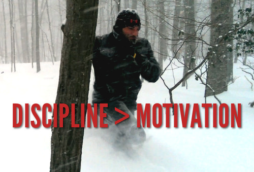 Discipline is greater than motivation