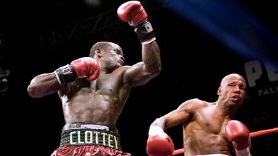 Joshua Clottey boxing Zab Judah