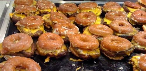 Donut Hamburgers
