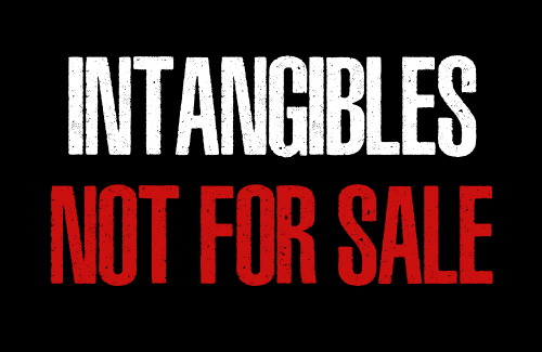 Intangibles Not For Sale