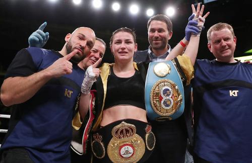 Ross Enamait - Katie Taylor - Lightweight Champion