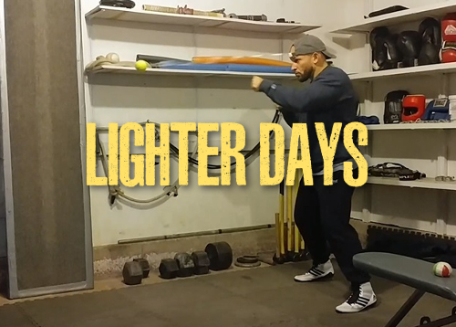 Lighter Training Days