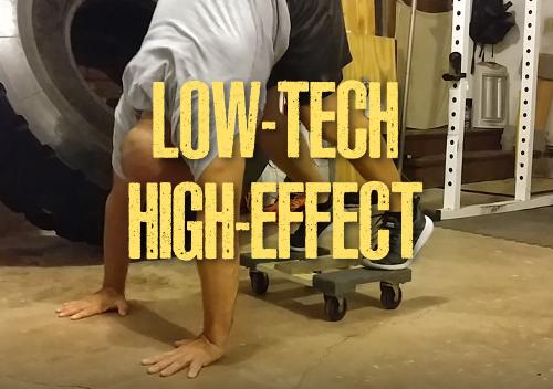 Low-tech training - Ross Enamait
