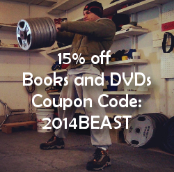 15 percent off all books and DVDs