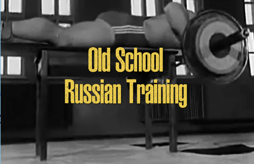 Old school Russian training