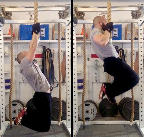 Pull-ups Grip Challenge