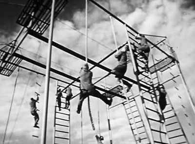 Russian Paratroopers - Rope Climbing
