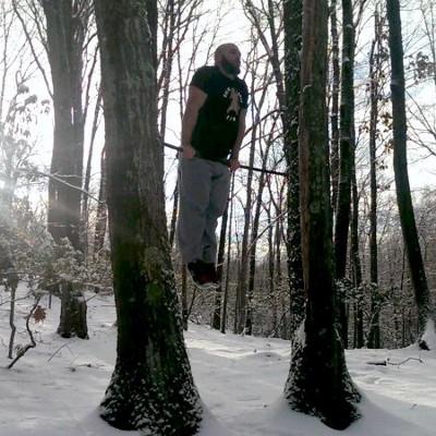 Winter training - pull-ups