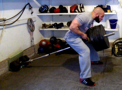 T-bar rope rows