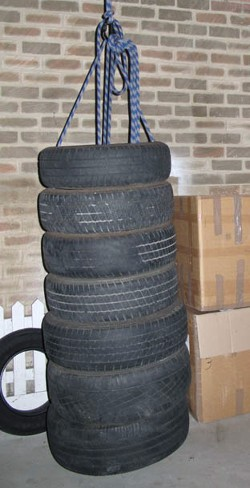 Tire Punching Bag A