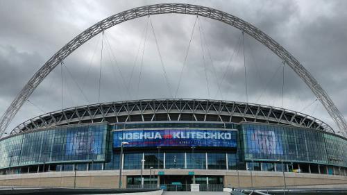 Wembley Stadium - Anthony Joshua vs. Wladimir Klitschko