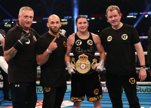 Ross Enamait - Katie Taylor - WBA Lightweight World Champion