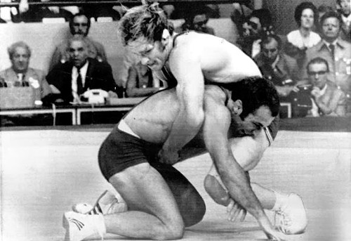 Dan Gable Wrestling