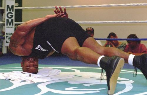 Mike Tyson Neck Training
